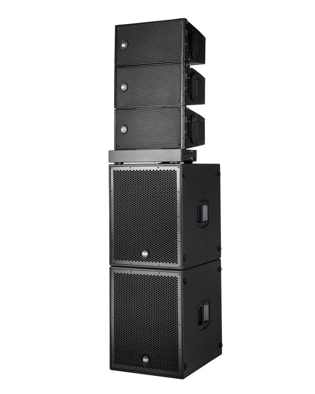 Système de snorisation Actif Line Array D-Line RCF Audio Pro Sub-8004-As HDL-10A Lille Nord France Prest'Events