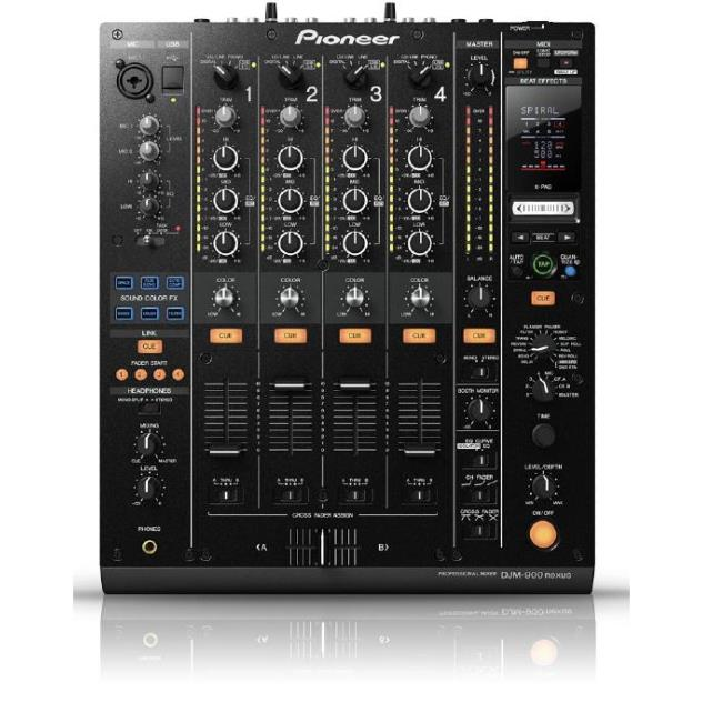 Location 24H ou Week-End PIONEER DJM 900 NXS table de mixage DJ 4 voies + effets