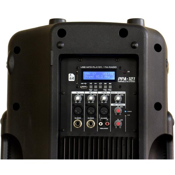 Location 24H ou Week-End JB SYSTEMS PPA-121 sono portable filaire 250W RMS